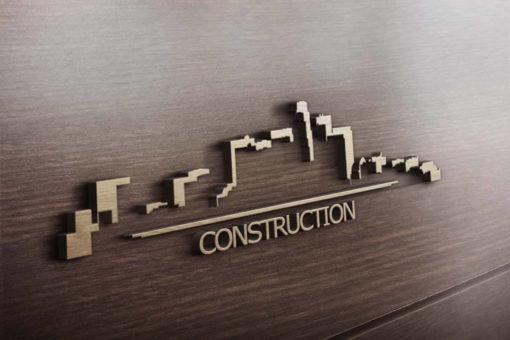 Логотип для строительной визитки