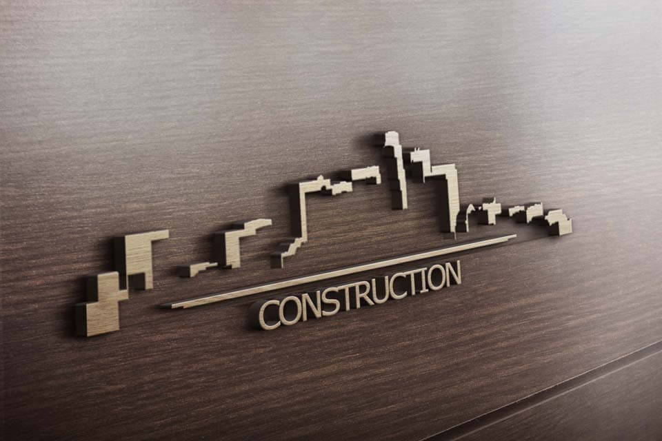 шаблон строительной визитки