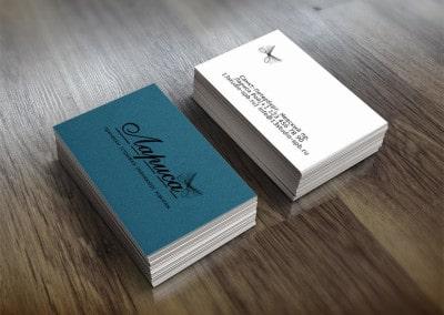 Шаблон визитки парикмахер