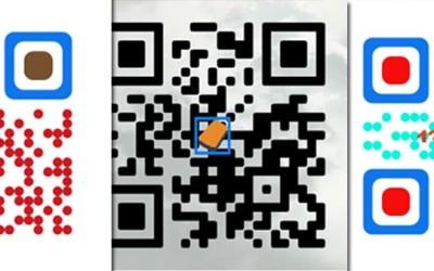 Как создать цветной QR- код с логотипом и изображением
