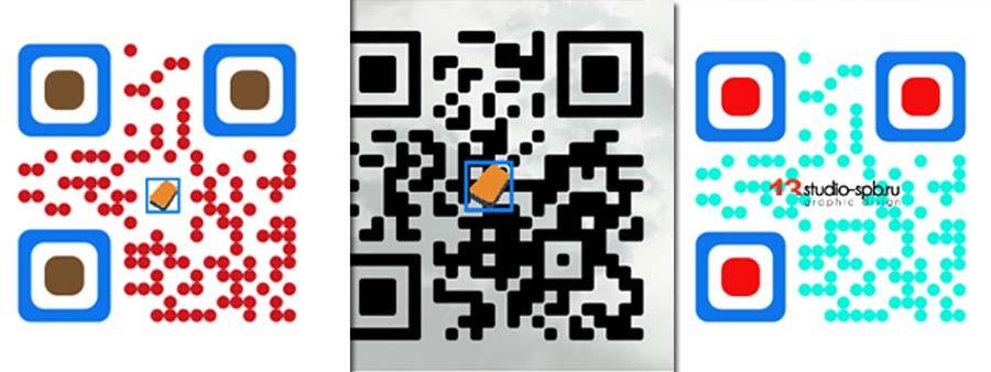 Создать цветной QR-код с логотипом и картинкой