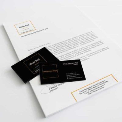 шаблоны визиток адвоката