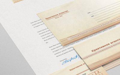 Шаблоны для фирменного стиля 03 + буклет. Категория бизнес и услуги