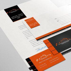 шаблоны фирменного стиля_04 визитка, фирменный бланк А4, конверты