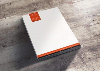 шаблон бланка A4_оранжевый фон