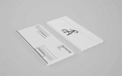 Шаблоны почтовых конвертов. Скачать бесплатно