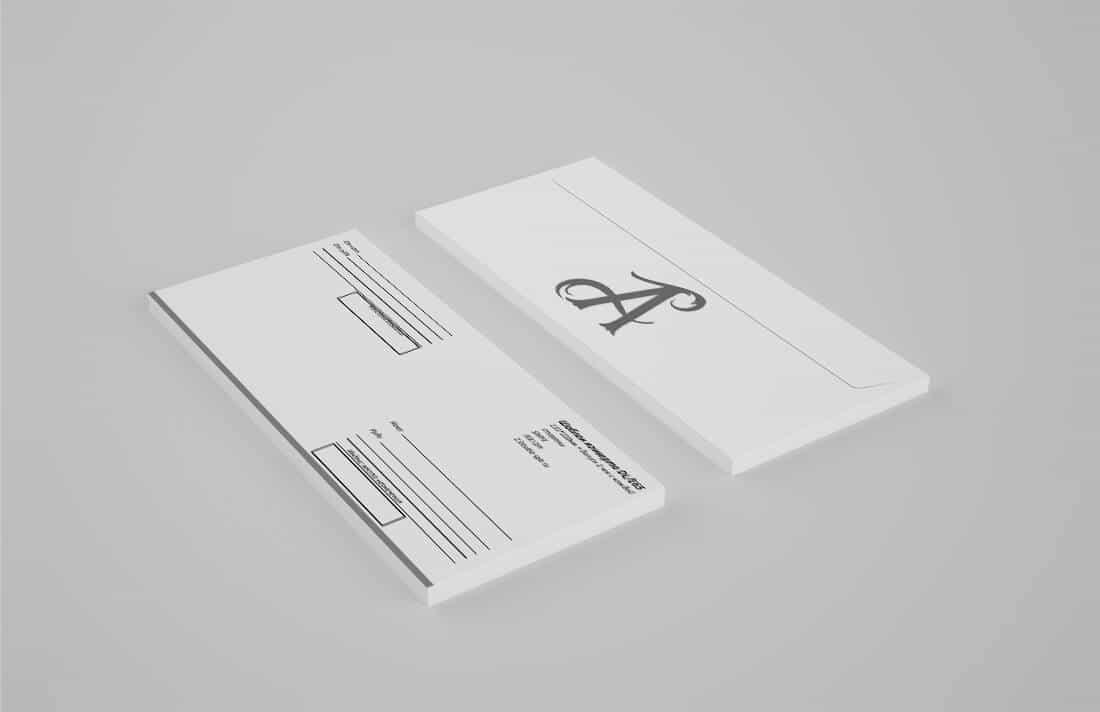 Шаблоны конвертов