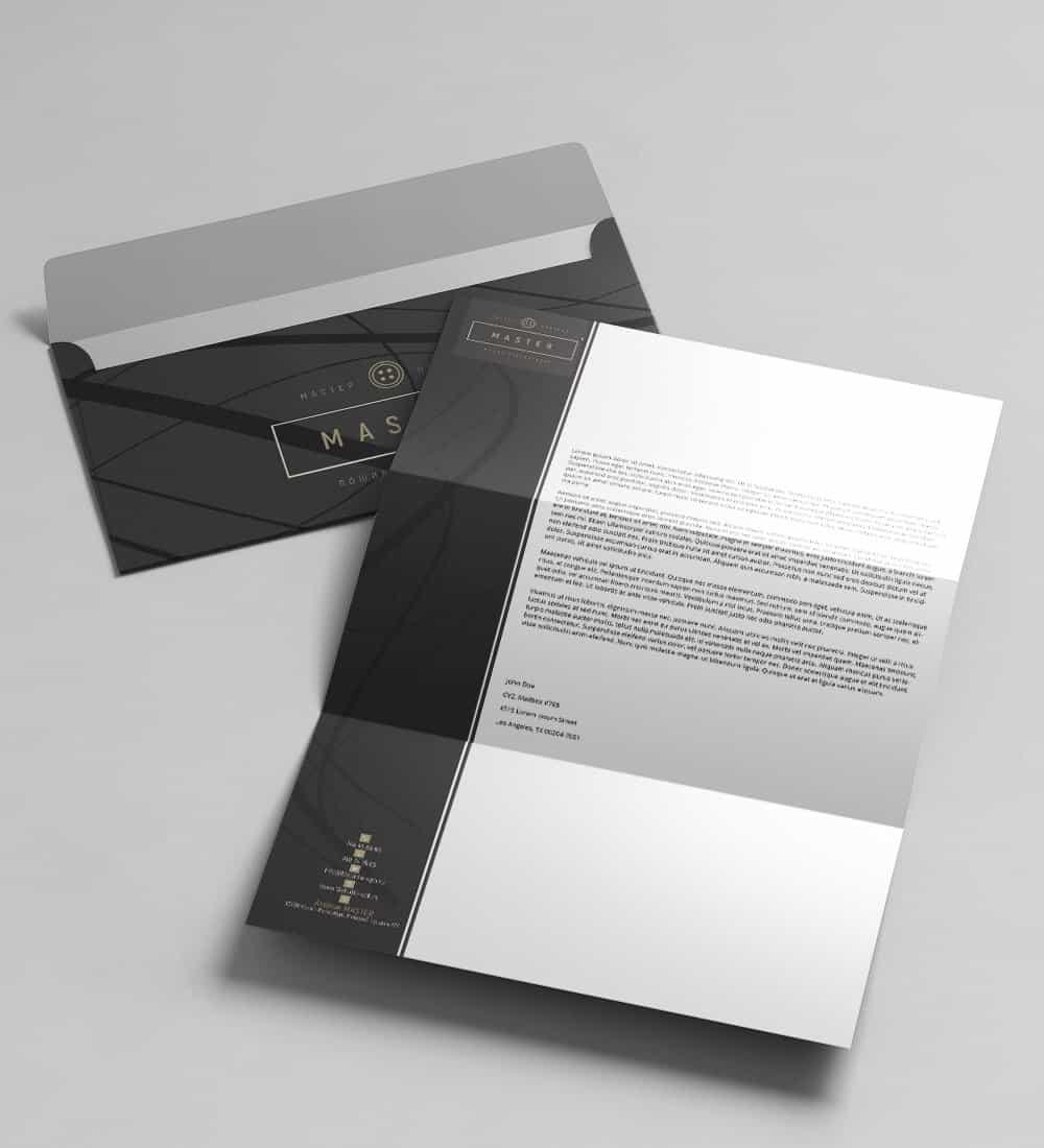 Бланк+конверт