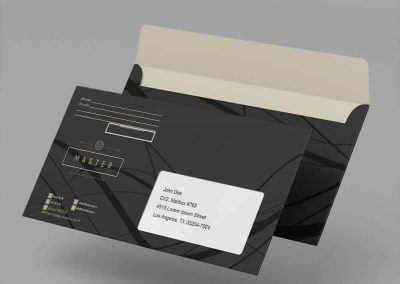 Шаблон конвертов для фирменного стиля
