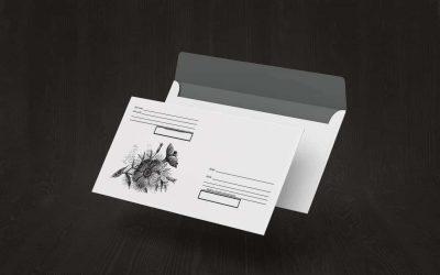 Скачать шаблон конверта С6