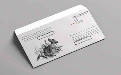 Скачать бесплатно шаблон конверта DL/C65