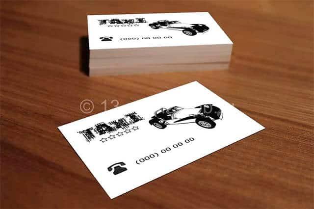Черно-белая-визитка-такси-демо