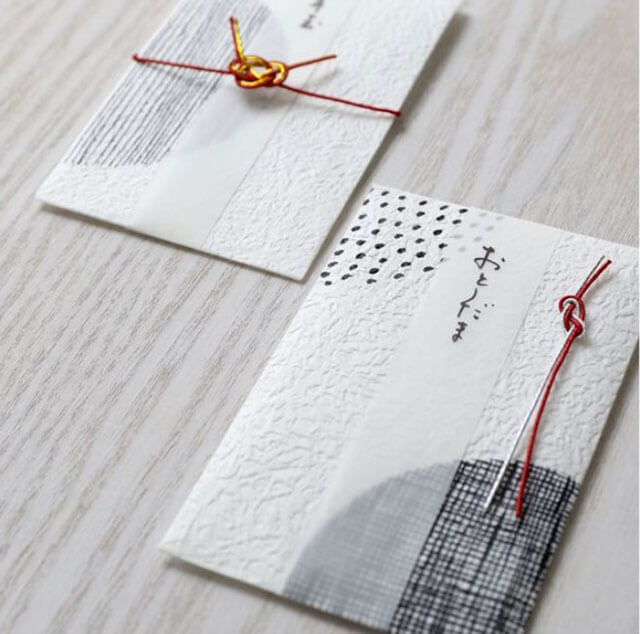 Японские конверты для денег. Пример 3
