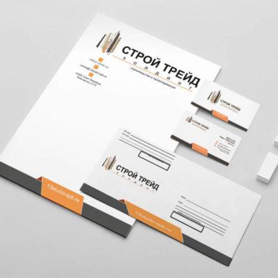Шаблоны фирменного стиля для строительной компании